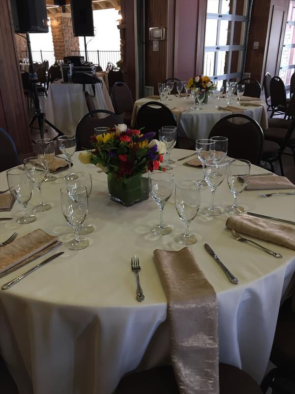 Grange Rental Spring Wedding